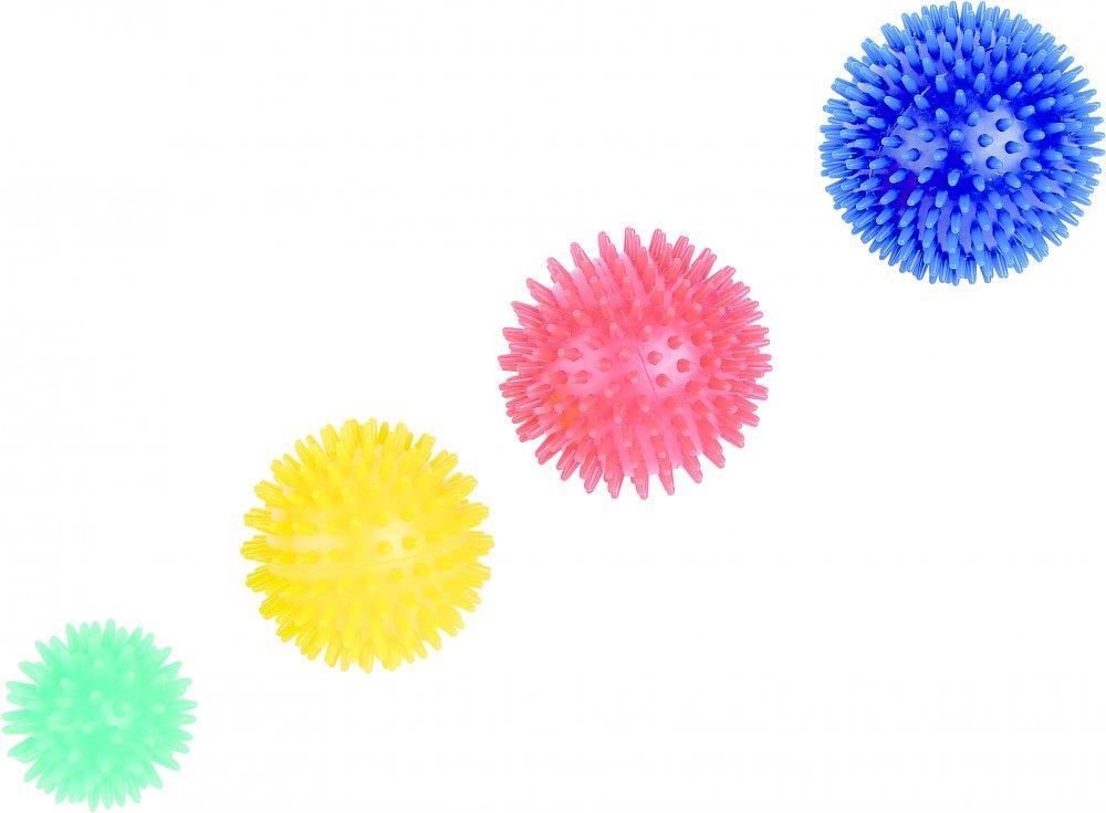 Massage Ball PVC rot
