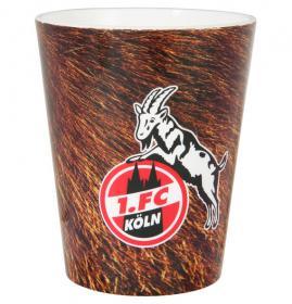 """1. FC Köln Zahnputzbecher """"Fell"""""""