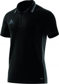 CON16 CL POLO BLACK/WHITE/VISGRE