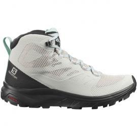 Schuhe OUTline Mid GTX W LunRoc/Bla