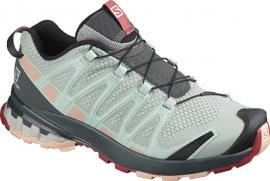 Schuhe XA PRO 3D v8 W Aqua Gray/Urb
