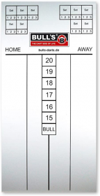BULL'S Markerboard 30x60