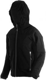 BOY  SOFTSHELL JACKET FIX HOOD NERO