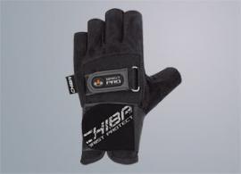 CHIBA Fitnesshandschuh, Handgelenks schwarz