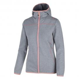 WOMAN FIX HOOD JACKET GRIGIO M.