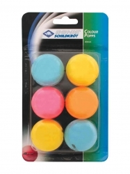 TT-Ball COLOUR POPPS 6er Schachtel