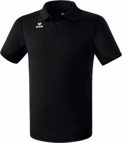 functional polo shirt black