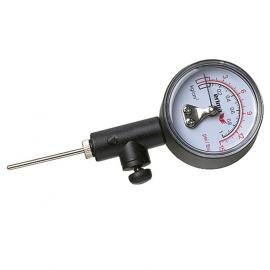 Pressure gauge black/white