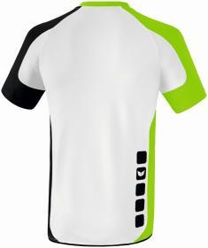 VALENCIA indoor jersey short sleev white/green gecko/black