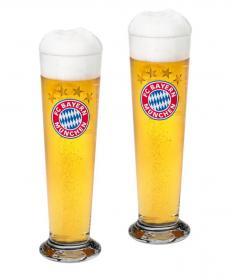 FCB Pilsglas 2er