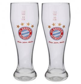 FCB Weißbierglas 2er Set