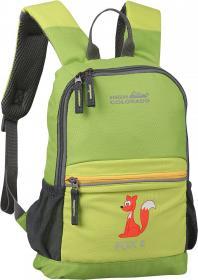 FOX 8 Kinder Rucksack grün