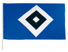 HSV Fahne Raute 2