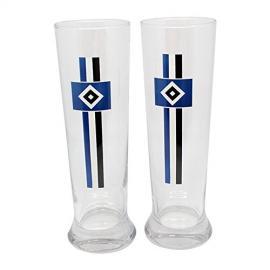 HSV Weizenbierglas 2er