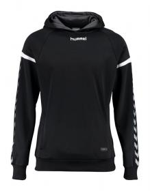 AUTH. CHARGE POLY HOODIE BLACK