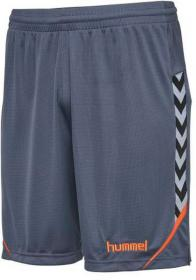 AUTH. CHARGE POLY SHORTS OMBRE BLUE/NASTURTIUM