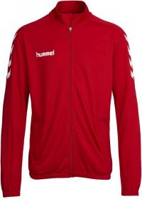 CORE POLY JACKET TRUE RED