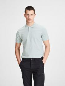 JJEBASIC POLO SS NOOS blue haze