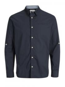 JORNORDLUND SHIRT LS ONE POCKET total eclipse