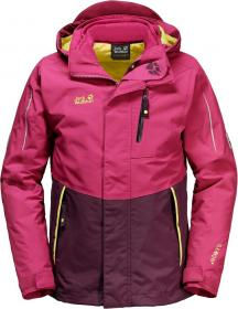 CROSSWIND 3IN1 KIDS azalea red