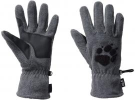 PAW GLOVES grey heather
