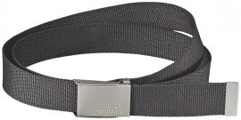 WEBBING BELT WIDE dark steel