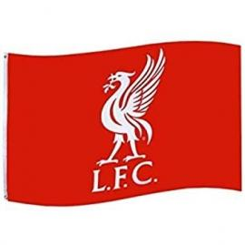 FC Liverpool Fahne Logo 150x90