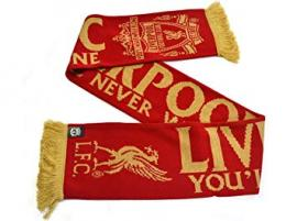 Liverpool FC Schal YMNA Gold