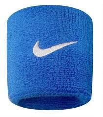 9380/4 Swoosh Wristbands 402 royal blue/white