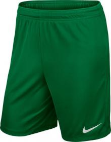 PARK II KNIT SHORT NB PINE GREEN/METALLIC SILVER