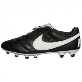 THE NIKE PREMIER II FG BLACK/WHITE-PINK POW