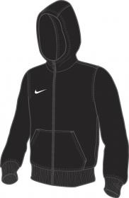 YTH TEAM CLUB FZ HOODY