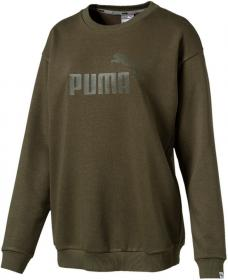 ESS No.1 Crew Sweat TR W ARUBA BLUE-PUMA WHITE