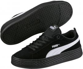 Puma Smash Platform SD BLACK-WHITE