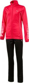 Tricot Graphic Suit TURBULENCE-PUMA SILVER-RED
