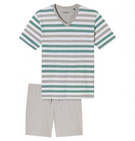 Anzug kurz grün