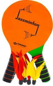 JAZZMINTON Set (2 Schläger grün/o