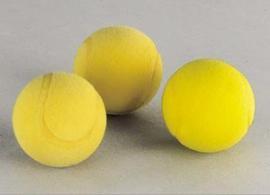 Soft-Tennisball gelb