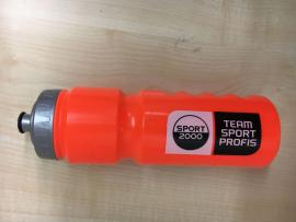TEAMSPORT PROFIS Trinkflasche neon orange