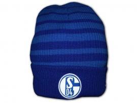 Schalke Two Colour Striped Beanie