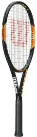 BURN 100 TEAM Tennisschläger schwarz-orange-gelb