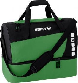CLUB 5 sports bag with bottom case smaragd/black