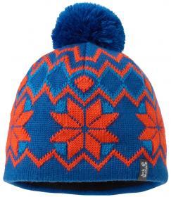 KIDS NORDIC POMPOM CAP classic blue