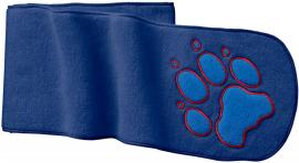 PAW SCARF KIDS royal blue