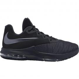 AIR MAX INFURIATE III LOW,BLACK/MTL