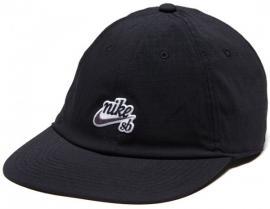 U NK H86 CAP FLATBILL,BLACK
