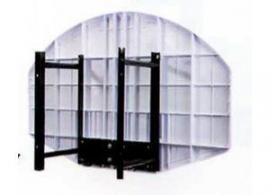 Zielbrett Wandhalterung für Art. 10 schwarz