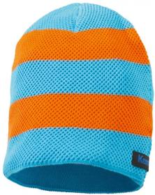 EM Strickmuetze shock orange/cyan