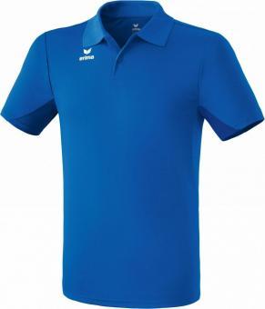 functional polo shirt D AZURE BLUE/AMAZONI