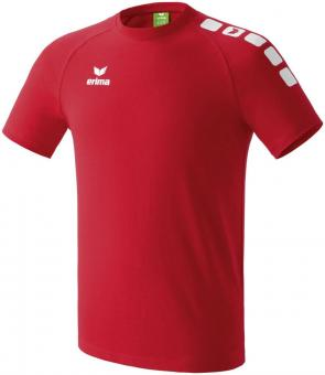 5-CUBES PROMO t-shirt red/white